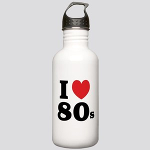 I Heart 80s Stainless Water Bottle 1.0L