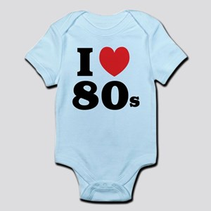 I Heart 80s Infant Bodysuit