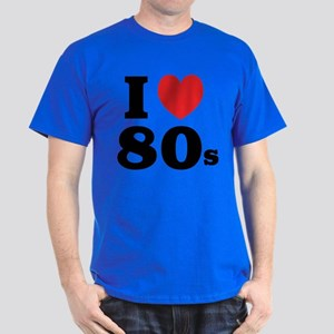 I Heart 80s Dark T-Shirt