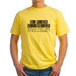 go f yourself t-shirts Yellow T-Shirt