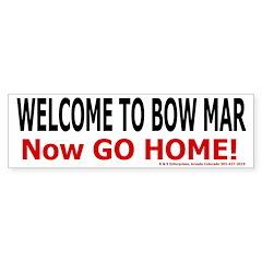 Bowmar welcome sticker