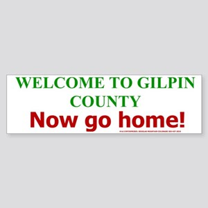 Gilpin Welcome Bumper Sticker