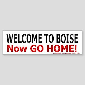 Boise Welcome Bumper Sticker