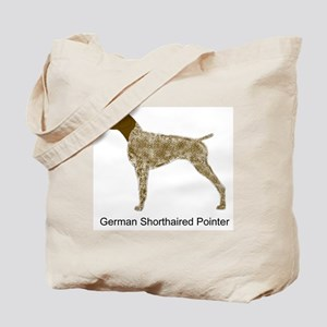Liver & White GSP Tote Bag
