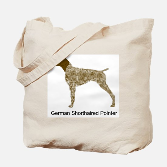 Liver & White GSP Tote Bag