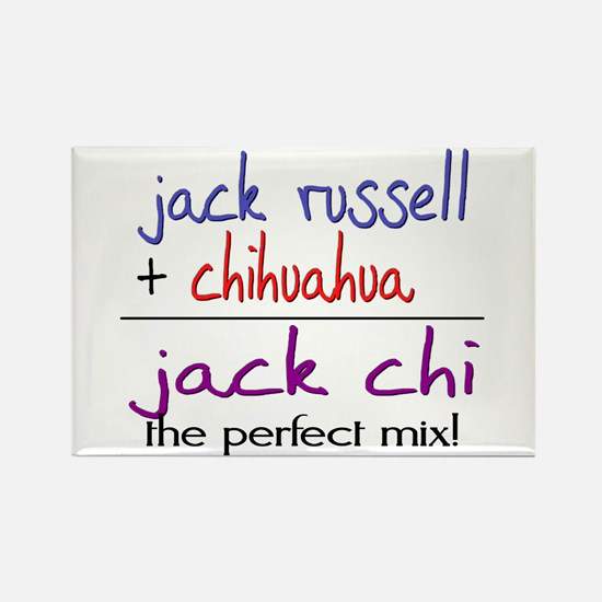 Jack Chi PERFECT MIX Rectangle Magnet