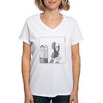 Plans Women's V-Neck T-Shirt