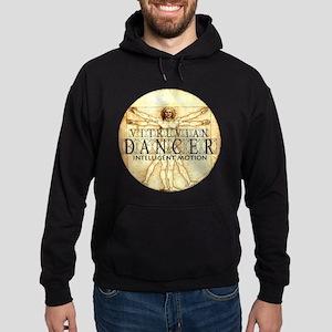 Vitruvian Dancer by DanceBay.com Hoodie (dark)