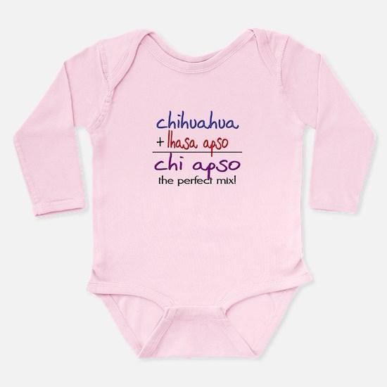 Chi Apso PERFECT MIX Long Sleeve Infant Bodysuit