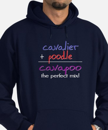 Cavapoo PERFECT MIX Hoodie (dark)
