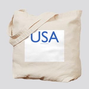 USA (Blue) - Tote Bag
