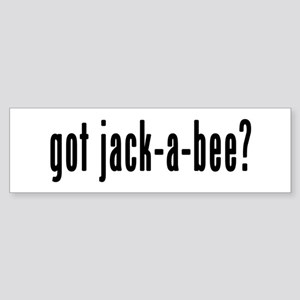 GOT JACK-A-BEE Sticker (Bumper)