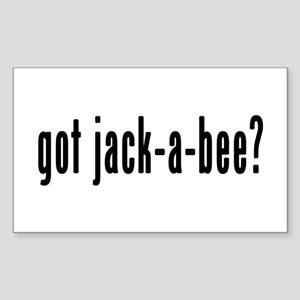 GOT JACK-A-BEE Sticker (Rectangle)