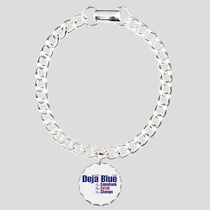 Deja Blue Giants Charm Bracelet, One Charm