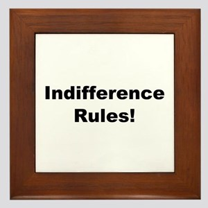 Indifference Rules! Framed Tile