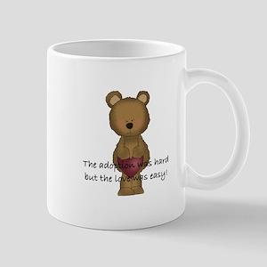 Adoption Bear Mug