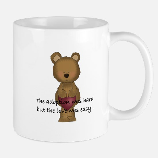 Adoption Bear Mug