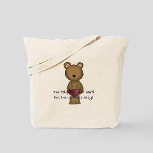 Adoption Bear Tote Bag