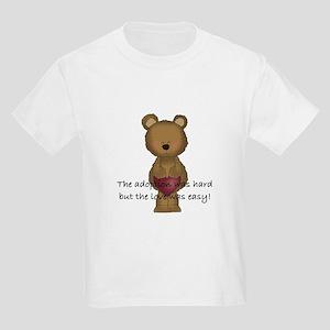 Adoption Bear Kids Light T-Shirt