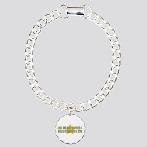 Search For You Charm Bracelet, One Charm