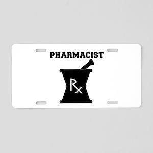 Pharmacist Rx Aluminum License Plate