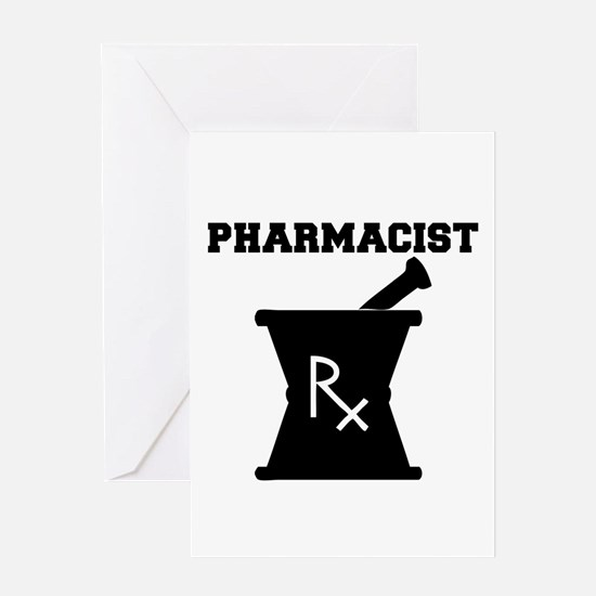 Pharmacist Rx Greeting Card