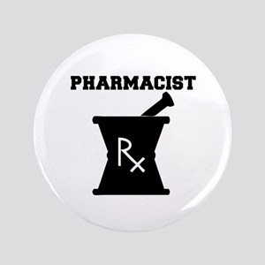 "Pharmacist Rx 3.5"" Button"
