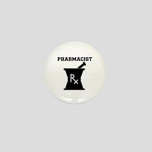 Pharmacist Rx Mini Button