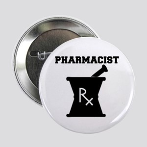 "Pharmacist Rx 2.25"" Button"