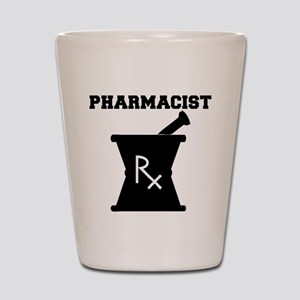 Pharmacist Rx Shot Glass