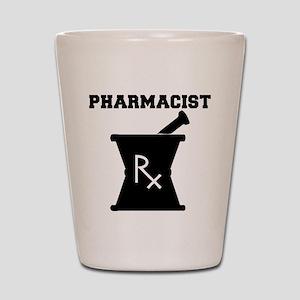 Pharmacist Rx Shot Glass