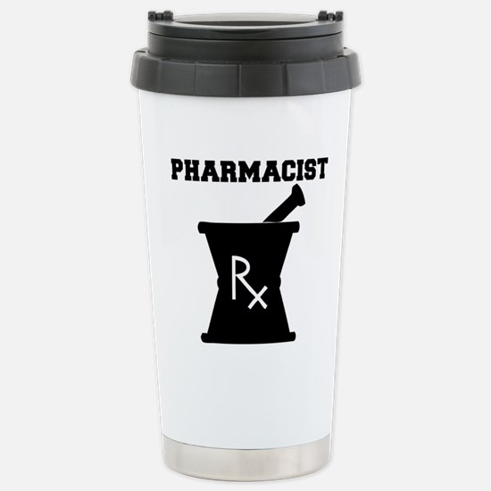 Pharmacist Rx Stainless Steel Travel Mug