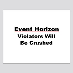 Event Horizon: Crushed Small Poster