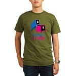 safe sex t-shirts Organic Men's T-Shirt (dark)