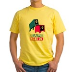 safe sex t-shirts Yellow T-Shirt