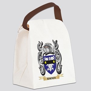 Barada Family Crest - Barada Coat Canvas Lunch Bag