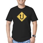 you turn me on t-shirt Men's Fitted T-Shirt (dark)