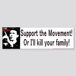 Kill Bumperstickers Bumper Sticker