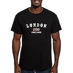 London England Men's Fitted T-Shirt (dark)