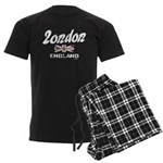 London England Men's Dark Pajamas