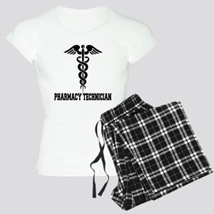 Pharmacy Tech Caduceus Women's Light Pajamas