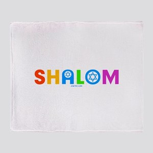 Shalom Throw Blanket