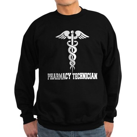 Pharmacy Tech Caduceus Sweatshirt (dark)