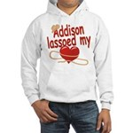 Addison Lassoed My Heart Hooded Sweatshirt