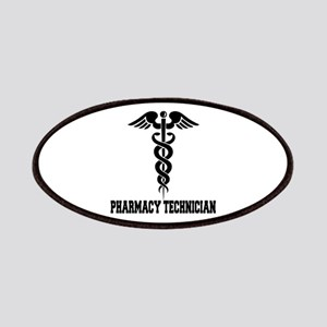 Pharmacy Tech Caduceus Patches