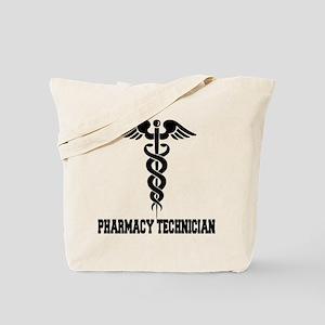 Pharmacy Tech Caduceus Tote Bag