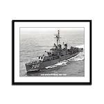 USS HAYNSWORTH Framed Panel Print