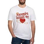 Alexandra Lassoed My Heart Fitted T-Shirt