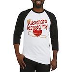 Alexandra Lassoed My Heart Baseball Jersey