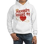Alexandra Lassoed My Heart Hooded Sweatshirt